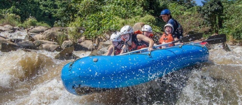 White Water Rafting  10  KM , 8 KM