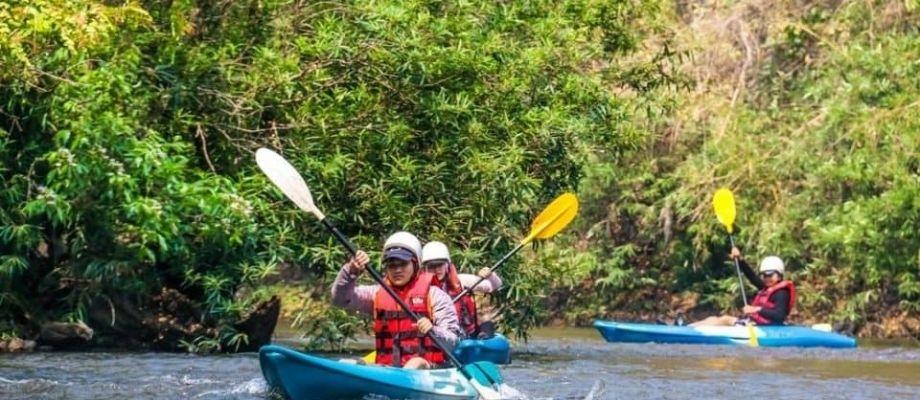 Chiang Mai Kayak Kayaking adrenaline custom learn to steer